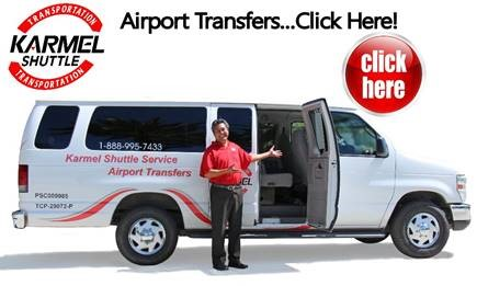 karmel shuttle banner graphic